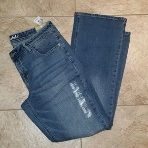 Aeropostale curvy bootcut jeans